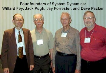Four founders of System Dynamics
